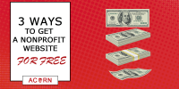 3 Ways To Get A Free Nonprofit Website